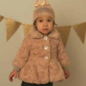 Calvin Klein Pink Coat 3-6m baby girl